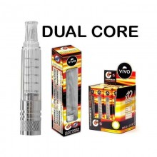 Clearomizer Dual Core 2 ml Vivo Atomizatoare Standard Vivo
