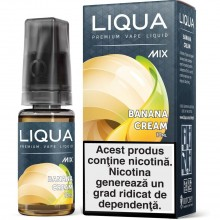 Liqua Mix 10ml Banana Cream Lichide Liqua