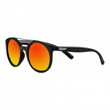 Zippo Orange Mirror Circular Sunglasses with Brow Bar Ochelari de Soare Zippo Manufacturing Company