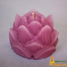 Lumanare Decorativa Lotus din Ametist Lumanari Decorative FASC