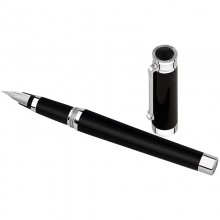 Stilouri, Montegrappa Parola Fountain Pen, Solid Black