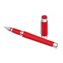 Stilouri, Montegrappa Parola Fountain Pen, Amarone Red