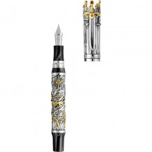 Montegrappa Game of Thrones Limited Edition Fountain Pen, Silver Editii Limitate Montegrappa