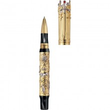 Montegrappa Game of Thrones Limited Edition Rollerball Pen, Gold Editii Limitate Montegrappa