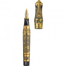 "Montegrappa Ancient Civilisation \""Thoth\\"" Fountain Pen, Gold Editii Limitate Montegrappa"