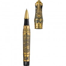 "Montegrappa Ancient Civilisation \""Thoth\\"" Rollerball Pen, Gold Editii Limitate Montegrappa"